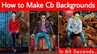 Download How to Make Cb Backgrounds in one click | New Trick | 100% real Cb Backgrounds Video