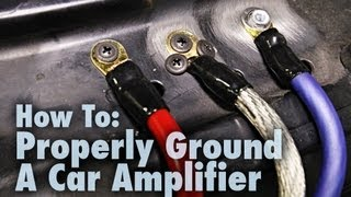 Download How to Properly Ground a Car Amplifier | Good & Bad Examples | Car Audio 101 Video