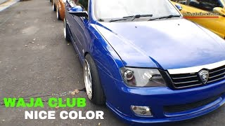 Download Proton Waja Metalic Blue Modified | Gathering Geng Sunroof GAGES 2016 Video