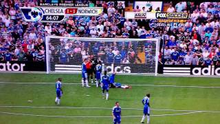 Download Drogba got knocked the f$&k out in mid air! Video