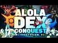Download COMPLETE THE ALOLA DEX! - 100% Alola Dex Conquest #01 - Pokemon Sun & Moon Livestream w/ Hydros Video