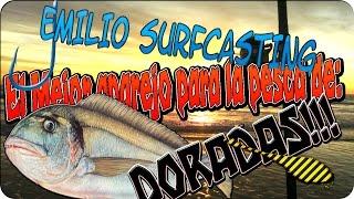 Download EMILIO SURFCASTING aparejo playa plomo fijo, el mejor aparejo para la dorada,empatillar Video