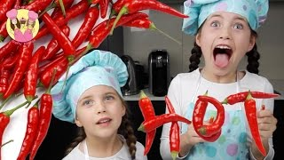 Download CHILLI CHALLENGE!! Charli from Charli's Crafty Kitchen tries a chilli -TASTE TEST Video