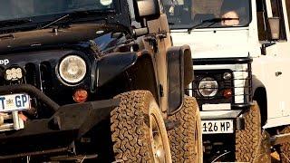 Download Land Rover Defender versus Jeep Wrangler Rubicon Video