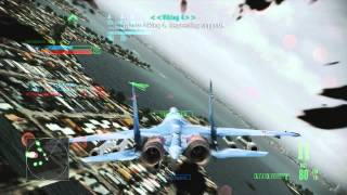 Download Ace Combat Assault Horizon Multiplayer Gameplay (F-15C Deathrider & SU-35) Video
