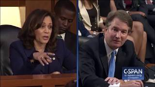 Download Exchange between Sen. Harris and Judge Kavanaugh on Mueller Investigation (C-SPAN) Video