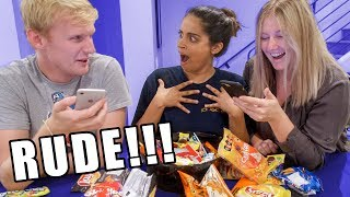 Download FRIENDS READ MY HATE COMMENTS DURING CANDY MUKBANG Video