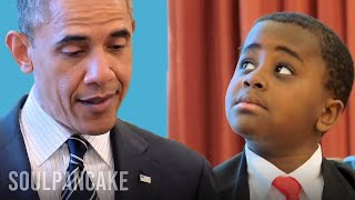 Download Kid President meets the President of the United States of America Video