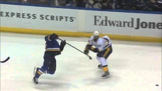 Download Vladimir Tarasenko vs Ryan Ellis fight Nashville Predators vs St. Louis Blues Nov 13 2014 NHL Video