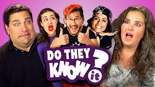Download DO PARENTS KNOW YOUTUBE STARS? #2 (REACT: Do They Know It?) Video