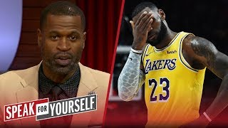 Download Stephen Jackson on LeBron's regular season debut for the Lakers | NBA | SPEAK FOR YOURSELF Video