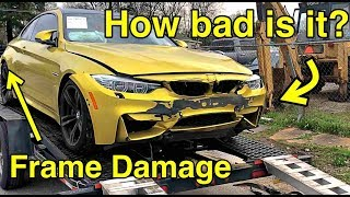 Download I Bought a Frame Damaged BMW M4 From Salvage Auction It WAS WORSE THAN I THOUGHT Video