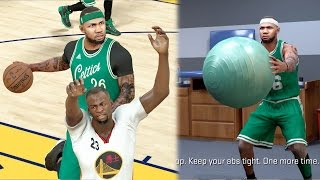 Download NBA 2k17 MyCAREER - LeBron James Injured Me! Nasty Ankle Breaker vs Golden State! Ep. 73 Video