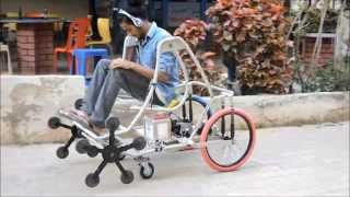 Download BE Mechanical Engineering Final Year Project - Smart Wheelchair Video