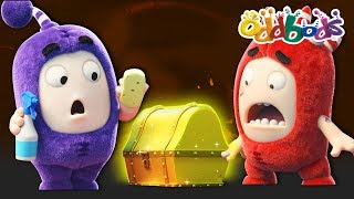Download ODDBODS | NEW | TREASURE ISLAND | Funny Cartoons For Kids Video