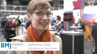 Download BMJ Careers Fair - Katherine Cohen, 2016 delegate Video
