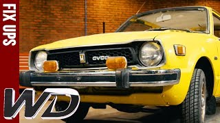 Download Edd Transforms 1970s Honda CVCC | Wheeler Dealers Video