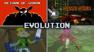 Download Evolution of Link's Deaths and Game Over Screens (1986 - 2017) Video