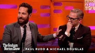 Download Paul Rudd's Weird Michael Douglas Prank - The Graham Norton Show Video