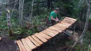 Download Mountain bike trail building Video