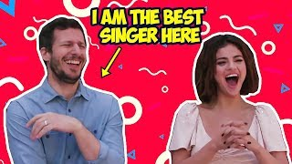Download Andy Samberg Makes Selena Gomez Laugh So Hard (Hotel Transylvania 3) Video