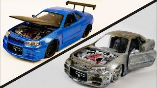Download Restore and repair abandoned toy car rusty | Restoration super car and sport car old #4 Video