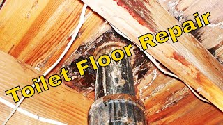 Download Toilet flange & Bathroom Floor Repair Video