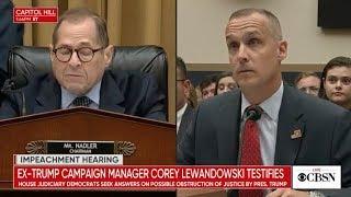 Download Corey Lewandowski testifies at impeachment hearing before congress, live stream Video