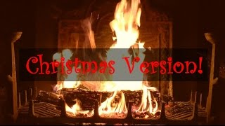 Download Yule Log Fireplace with Christmas Music (Jazz) Video