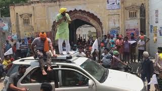 Download Bhagwant Mann Rally and Road Show Balial, Sangrur Video