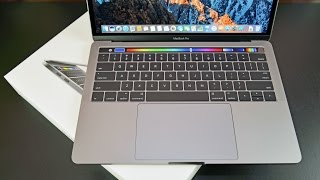 Download Apple MacBook Pro 13″ (Touch Bar): Unboxing & Review Video