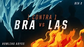 Download LAS x BRA (Dia 2 - 1 contra 1) - IWCA 2016 Video