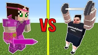 Download Minecraft: POPULARMMOS VS GAMINGWITHJEN!!! - WHO IS STRONGEST?!? Video
