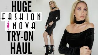 Download HUGE FASHION NOVA TRY-ON HAUL Video