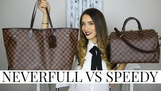 Download LOUIS VUITTON NEVERFULL VS SPEEDY | Pros, Cons & Review! | Shea Whitney Video