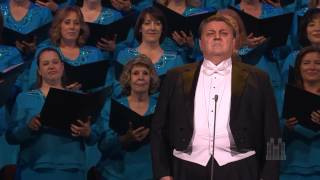 Download Stanford Olsen sings ″The Holy City″ with the Mormon Tabernacle Choir Video