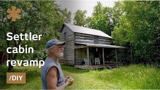 Download Joy of rebuilding a settler cabin log-by-log on MN homestead Video
