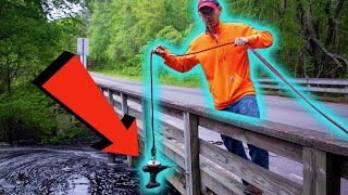 Download We Went Magnet Fishing At A 200 Year Old Dam! (Historical Artifacts FOUND & CONFISCATED) Video