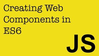 Download Creating Web Components in JavaScript (ES6) to use in your Angular, React and Ember projects Video