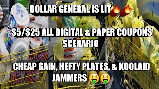 Download DOLLAR GENERAL 5/25 ALL DIGITAL & PAPER COUPONS SCENARIOS. CHEAP KOOLAID JAMMERS, HEFTY PLATES Video