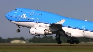 Download Plane spotting at Schiphol Amsterdam - 35 planes take off and landing in 12 minutes Video