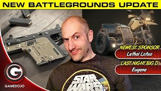 Download UPDATE!! PLAYERUNKNOWN's BATTLEGROUNDS 🔴 2x Scopes, Motorcycles & Vector! Video