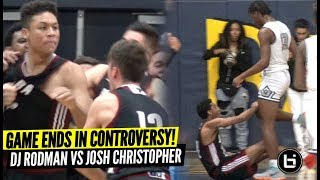Download Josh Christopher vs Dennis Rodman Jr ENDS IN CONTROVERSY!! Josh vs DJ CRAZY BATTLE! Video