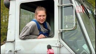 Download Девушки за рулем. Трактор, фура, Газель и рейсовый автобус Video