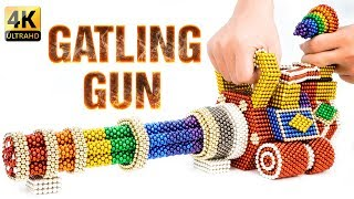Download DIY - How To Build Rainbow PUBG Gatling Gun With Magnetic Balls - 100% Satisfaction - Magnet Ballls. Video
