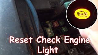 Download DIY: Reset Check Engine Light without OBDII reader Video