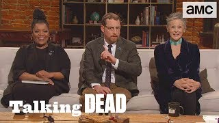 Download 'Who Are the Voices in Rick's Head?' Fan Questions Ep. 905 | Talking Dead Video