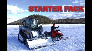 Download Building Snowmobile Jumps (Goon Riding) Video