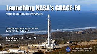 Download NASAJPL Live: Launching GRACE-FO Video