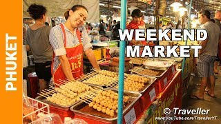Download Phuket Weekend Market - Just the food! - Phuket holiday attractions - Thai Street food at its best Video